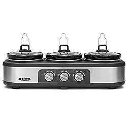 Kitchen Gadgets - Triple Crock Pot