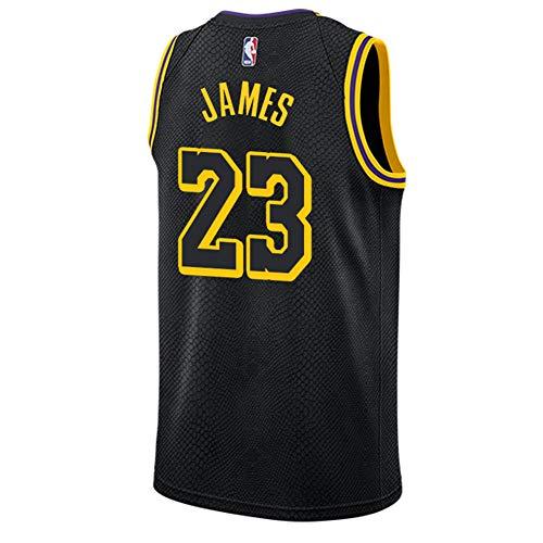 James Lakers City Swingman - Camiseta para hombre (talla M)