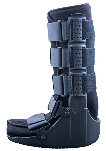 Mars Wellness Premium Polymer Tall Cam Walker Fracture Ankle/Foot Stabilizer Boot - S
