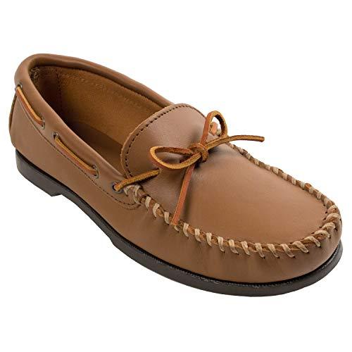 Minnetonka Camp Moc 742w, Mocassins (loafers) homme - Marron - Brown (Maple), 43