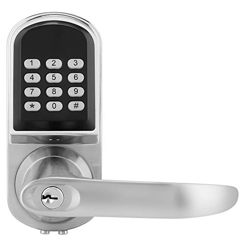 Intelligentes Türschloss mit Umschaltbarem Griff Anti-Diebstahl Code Schloss Passwort/Schlüssel/RFID-Entriegelung Home Security Schloss für 38MM ~ 50MM Tür