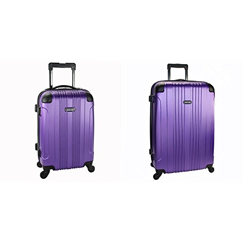 Kenneth Cole Reaction Out of Bounds 4 Wheel Upright Two-Piece Set (20'/28'), Purple