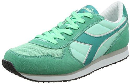 Diadora K-Run W, Sneaker a Collo Basso Donna, Verde (Verde Opale/Verde Columbia), 38 EU