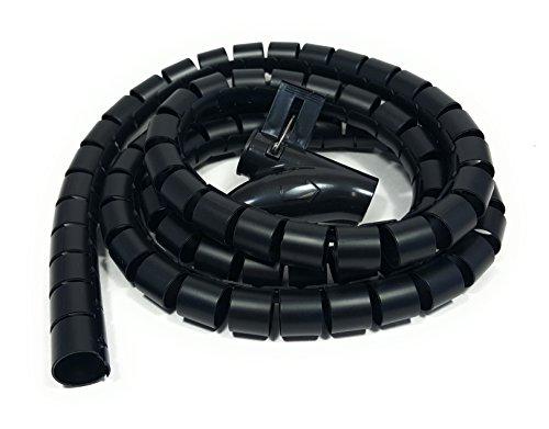 ¡Bambelaa! Tubo Organizador Cables Plástico Flexible 1,5 m De Longitud Diámetro De...