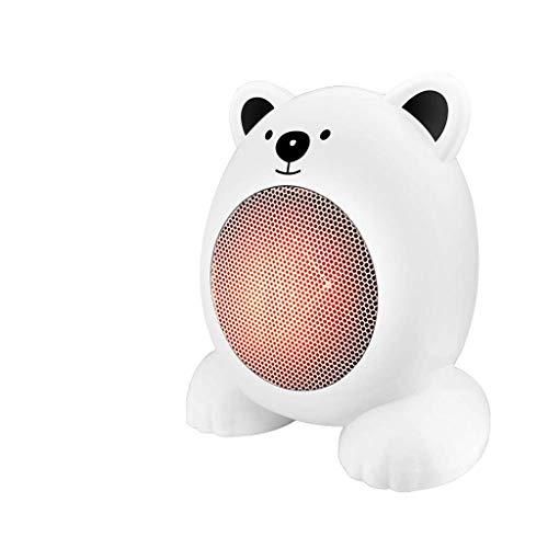 XZJJZ De Dibujos Animados Mini Ventilador del Calentador eléctrico, PTC Elemento de...