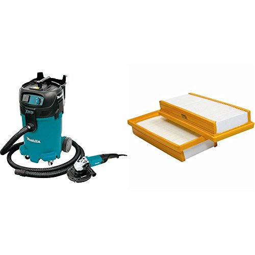 Why Should You Buy Makita VC4710X1 12 gallon Xtract Vac Wet/Dry Vacuum and 7 Angle Grinder with fre...