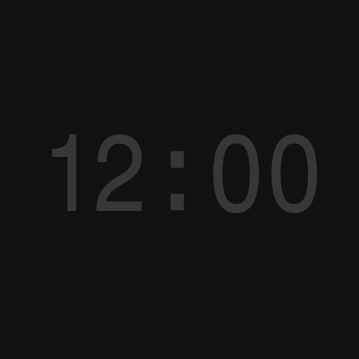 Simple Clock for Fire TV