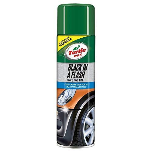 Turtle Wax 51777 Black In A Flash Reinigungsspray Für Reifenverkleidung Für Kunststoff 500Ml