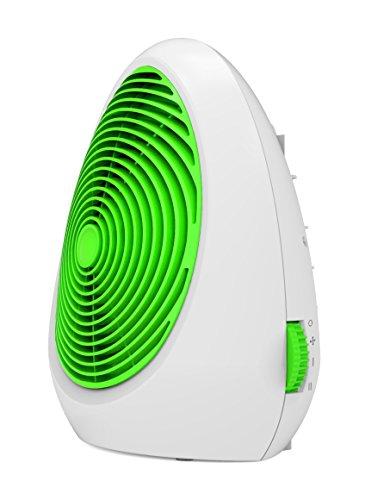 Ardes AR4F02G Muna Colorato Termoventilatore Elettrico, 2 Potenze con Termostato, 2000W, Verde