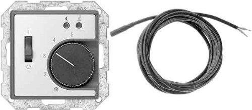 Gira 039420Edelstahl Thermostat–Thermostat (Edelstahl, 230V, 50°C)–10