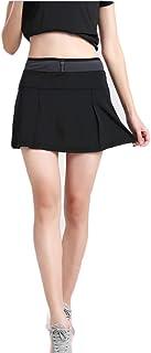 Lanbaosi Women's Running Skorts Tennis Golf Quick Dry Non See-Through Skirt with Drawstring
