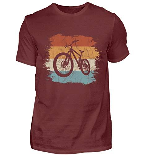 Shirtee Camiseta de Ciclismo para Hombre, Estilo Retro Vintage, para Bicicleta de...
