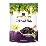 Terrafertil Nature's Heart Chia Seeds, Vegan, Gluten-Free 1 x 1kg