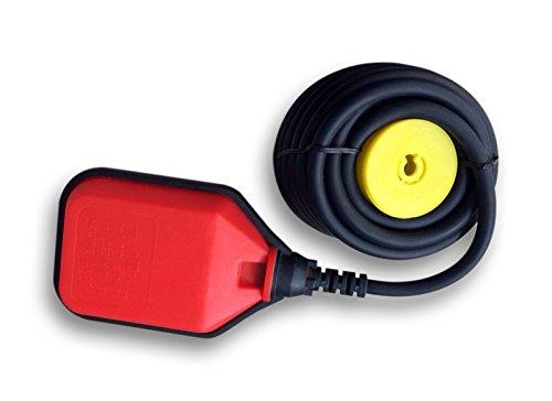 5m 250V 16A Schwimmerschalter Pumpe Tauchpumpen Pegelschalter Wechsler rot