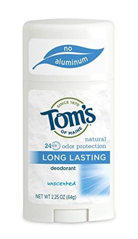 ローン敬な不要Tom's of Maine ナチュラルケアデオドラントスティック無香料2.25オズ(2パック)