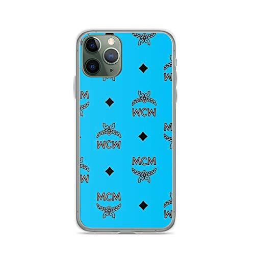 FMIOCO Pure Clear Hülle Transparent Soft TPU Schutz Cover Kompatibel mit iPhone 11 Hülle MCM