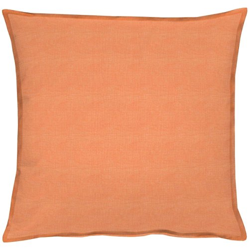 APELT 3947 49x49 Fb Kissenhülle, 60% Baumwolle/40% Polyester, orange