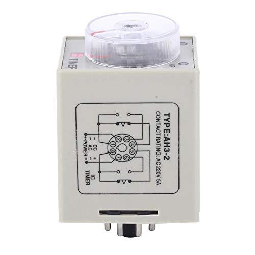 Mini controlador de retardo temporizador relé de tiempo AC 220 V temporizador interruptor Mini para sistema de control automático(10S)
