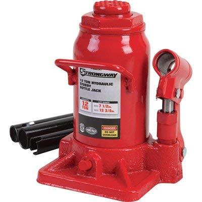 Strongway 12-Ton Stubby Hydraulic Bottle Jack