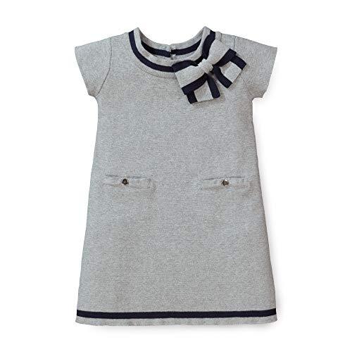 Hope & Henry Girls' Milano Tipped Sweater Dress