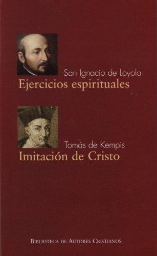 Ejercicios espirituales. Imitacion De CR (FUERA DE COLECCIÓN)