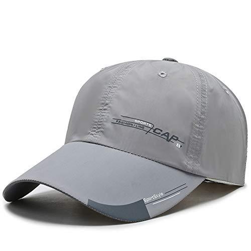 Artículos de moda Deportes de ocio al aire libre gorras de béisbol sombreros para el sol reflectantes de moda para hombres sombreros para el sol de protección solar para mujeresRegalo de vacaciones