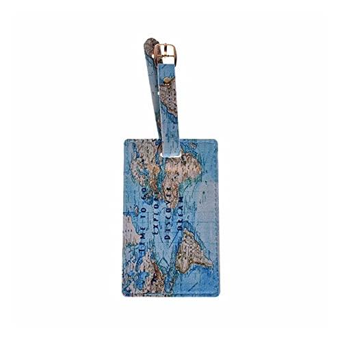 TTCI-RR Etichette Bagagli, Tag Bagagli Viaggi Valigia Borsa ID ID Tag Indirizzo Etichetta del Bagaglio Porta Carte da Viaggio Accessori da Viaggio Accessori Etichetta Etichetta (Color : 3)