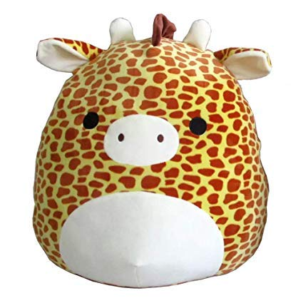 Squishmallow Kellytoy 12 inch Gary The Giraffe Super Soft Plush Toy Animal Pillow Pal Buddy Stuffed Animal Birthday Gift Holiday