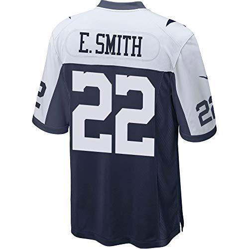 Dallas Cowboys Mens NFL Nike Game Jersey, Emmitt Smith, Medium, Throwback