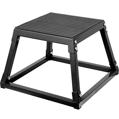 VEVOR Plyometric Box 12' Pliométrico Caja 12' Pliométrico Plataforma Caja de Salto Caja...