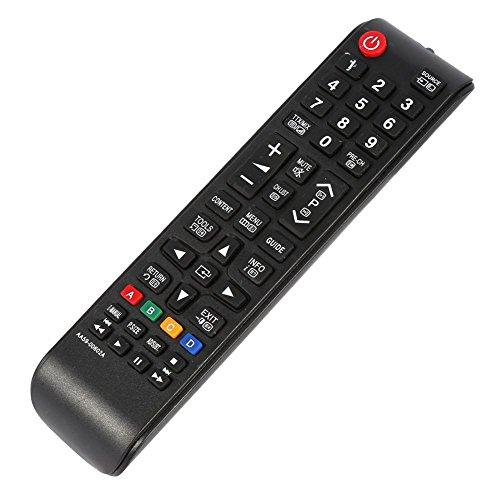 Tosuny Universele afstandsbediening TV-afstandsbediening voor Samsung 3D Smart TV Vervanging afstandsbediening voor Samsung HDTV LED Smart TV (zwart)
