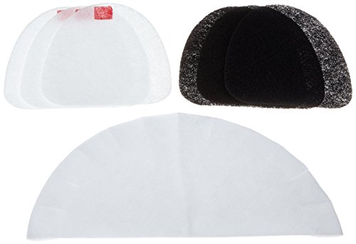 DeLonghi FIL.F18 Filterset (für Fritteusen F18233, F18316, F18436) schwarz/weiß
