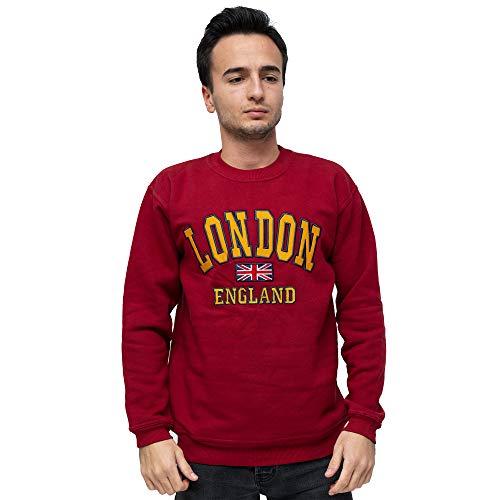 Londen Engeland Sweatshirt UK Union Jack Vlag Britse Souvenir Gift Crew Neck Premium kwaliteit lange mouwen trui
