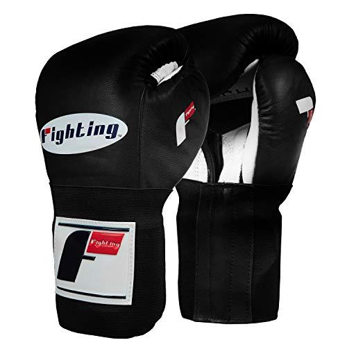 Fighting Sports Tri-Tech Bag/Sparring Gloves, Black/White, 16 oz