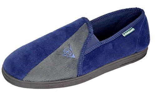 Zapatillas de casa de hombre Dunlop Winston II, con suela suave super confortable, color...