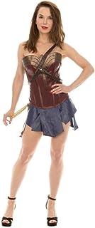 DC Comics Wonder Woman Corset & Skirt Cosplay Costume