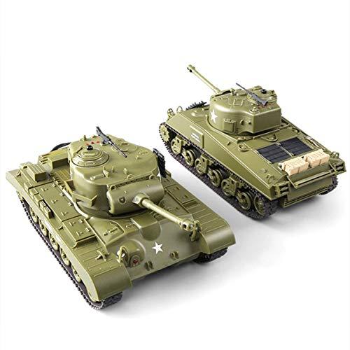 XIAOKEKE 2.4Ghz RC Batalla Principal Tanques Militares Crawler Vehículo Tanque Panzer Sonido De Tigre Torreta Giratoria Retroceso Acción Cuando La Artillería De Cañón Dispara El Mejo