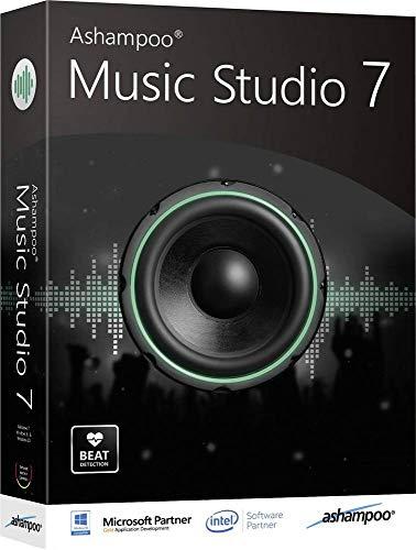 Ashampoo Music Studio 7 Vollversion, 1 Lizenz Windows Musik-Software