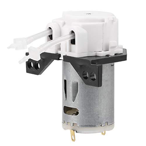 Yunnyp Mini hydraulische pomp industrie doseerpomp peristalkop, 12V 1 * 3, Wit, 1