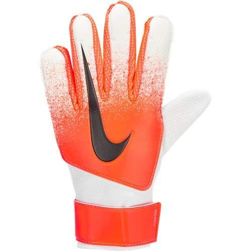 Nike Kinder Match Torwarthandschuhe, White/Hyper Crimson/Black, 6
