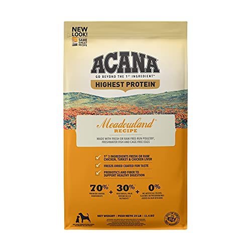 ACANA Regionals Protein-Rich, Real Meat