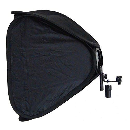 DynaSun Caja de Luz Softbox Plegable SB1009 50x50cm para Flash Camara Fotografia Estudio Foto Video