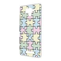 FFANY AQUOS SERIE (SHL25) 用 ハードケース スマホケース パズル柄・パステル おもしろ ゲーム パロディ SHARP シャープ アクオス セリエ au スマホカバー 携帯ケース 携帯カバー puzzle_aao_h190733