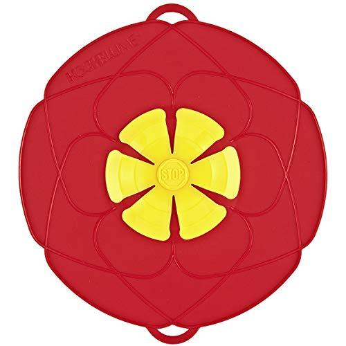 Kochblume Überkochschutz rot klein - Ø 25,5 cm