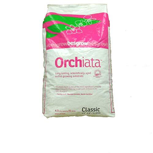 ORCHIATA SUBSTRATO per Orchidee Corteccia Classic da 6-9 MM 5 Litri Giardinaggio Piante
