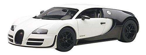 AUTOart- Miniature Voiture de Collection, 70933, Blanc/Carbone