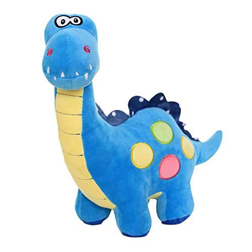 EQLEF Peluche Dinosauro Carina Dinosauro Farcito Peluche Dinosauri Giocattoli per Bambini Blu(Blu)
