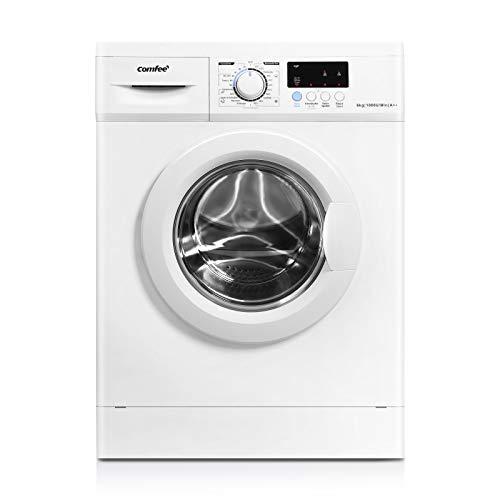 Comfee WM 6010 A++ Waschmaschine / 6KG / EEK: A++ / 23 Programme/Trommelreinigung/Easy Wash/Kurzwäsche/Extra Spülen / 1000 U/min [Energieklasse A++]