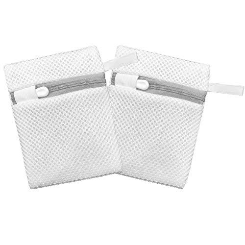 洗濯ネット小 洗濯洗剤ネット[ 2枚 ] マグネシウム洗濯 粉洗剤用ネット 粉石鹸ネット 洗剤ネット
