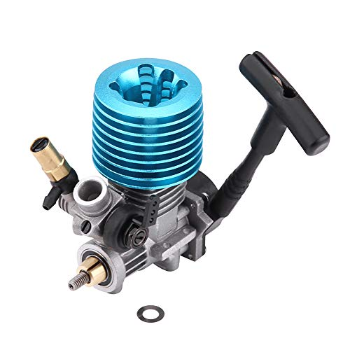 Lowest Prices! Jarchii RC Car Starter, 1pc 1.14CC 07 Side Exhaust Pull Starter 31000RPM Engine Acces...